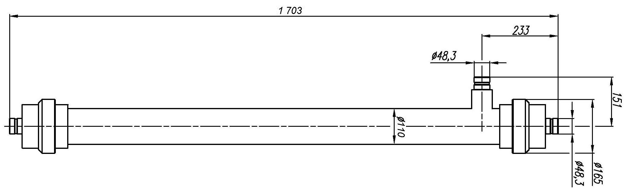 Ультрафильтрационный половолоконный модуль УФ-7-300-ПВДФ