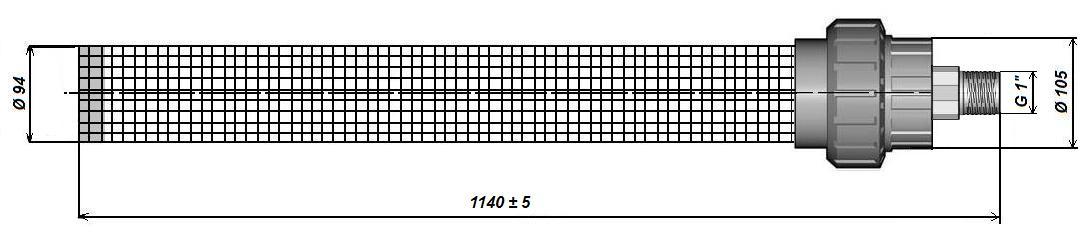 Погружной мембранный модуль